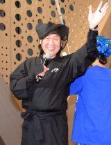 ファッションショー『日本元気プロジェクト 2015スーパーエネルギー!! Produced by KANSAI YAMAMOTO』のプロデューサー山本寛斎氏 (C)ORICON NewS inc.