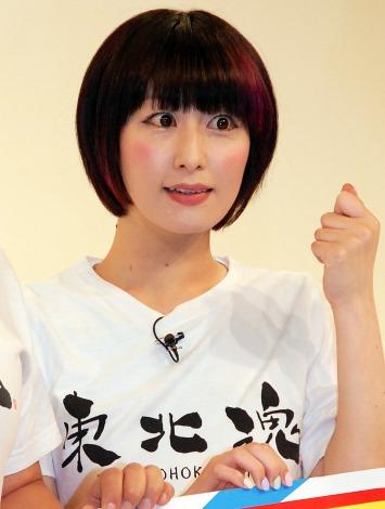 『東北魂TV 復興支援スペシャルライブ2015 in お台場』会見に出席した鳥居みゆき(C)ORICON NewS inc.