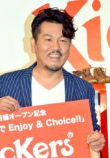 Kicker's新店舗オープン記念『父の日 家族でEnjoy&Choice!!』に出席した藤本敏史(FUJIWARA) (C)ORICON NewS inc.