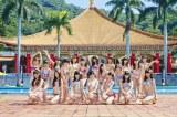 日本テレビ系音楽番組『THE MUSIC DAY』に出演するNMB48 (C)NMB48