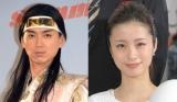 2014年度のCMタレント好感度ランキングで1位となった(左から)松田翔太、上戸彩 (C)ORICON NewS inc.