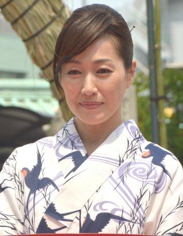 高島礼子さんのポートレート