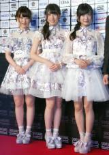 (左から)AKB48の中西智代梨、茂木忍、NGT48の北原里英 (C)ORICON NewS inc.