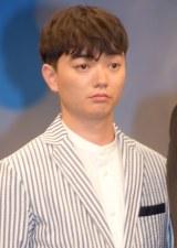 劇場アニメ『バケモノの子』の完成披露会見に出席した染谷将太 (C)ORICON NewS inc.
