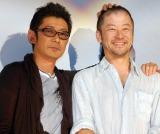 映画『あん』大ヒット御礼トークイベントに出席した(左から)永瀬正敏、浅野忠信(C)ORICON NewS inc.