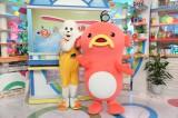 ABC『おはよう朝日です』のマスコットキャラクター・朝おき太くん(右)と新キャラクターの「エビシー」(C)ABC