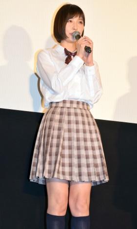 映画『リアル鬼ごっこ』の完成披露試写会&舞台あいさつに出席した篠田麻里子 (C)ORICON NewS inc.
