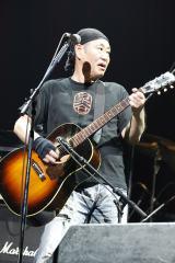 """『〜The 六十 th Anniv.〜""""ROCK 十""""CHAR LIVE IN 日本武道館』に出演した泉谷しげる"""