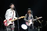 """『〜The 六十 th Anniv.〜""""ROCK 十""""CHAR LIVE IN 日本武道館』でCharとJESSEが親子共演"""