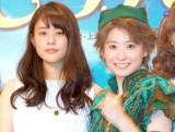 ブロードウェイミュージカル『ピーターパン』2015 製作発表記者会見に出席した(左から)高畑充希、唯月ふうか (C)ORICON NewS inc.