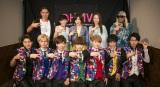 超特急(前列)とTRFが2マンライブ『アツイ夜だから…』を開催 Photo:米山三郎(SignaL)、冨田望