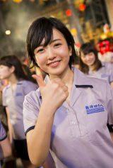ドラフト生初のシングル表題曲センターを務める須藤凜々花(C)NMB48