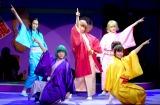 舞台『じょしらく』で女性落語家を演じる乃木坂46 (C)ORICON NewS inc.