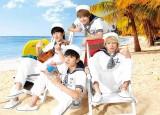 フジテレビの夏イベント「めざましライブ」7月26日:DISH//