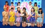 アニメ『プリパラ』のエンディング曲を7月から担当するSUPER☆GiRLS (C)ORICON NewS inc.