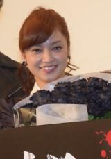 映画『呪怨 −ザ・ファイナル−』の初日舞台あいさつに登壇した平愛梨 (C)ORICON NewS inc.