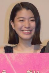 三池崇史監督の映画『極道大戦争』初日舞台あいさつに出席した成海璃子 (C)ORICON NewS inc.