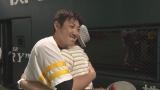 内川聖一選手と濃厚なハグ。KBC九州朝日放送の『ロンプク☆淳』が7月から週イチレギュラー化。7月4日放送では、福岡ソフトバンクホークスに潜入(C)KBC