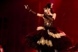 「ETERNAL BLAZE」など3曲を披露した水樹奈々 photo:kamiiisaka
