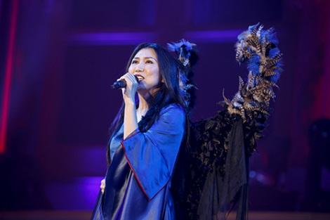 オープニングを飾ったのは高橋洋子「残酷な天使のテーゼ」 photo:kamiiisaka