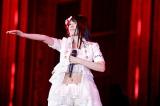 『KING SUPER LIVE 2015』に出演した かなでももこ photo:kamiiisaka