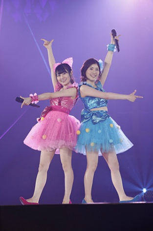 『KING SUPER LIVE 2015』に出演したゆいかおり photo:kamiiisaka