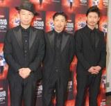 年内でEXILEのパフォーマー卒業を発表した(左から)USA、松本利夫、MAKIDAI (C)ORICON NewS inc.