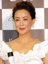 化粧品『コモエース プレミアム』発表会に出席した床嶋佳子 (C)ORICON NewS inc.