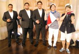 """""""5人""""での紅白出場に意欲を見せた(左から)ヴォーカルトリオのソレ・ミオ、クマムシの佐藤大樹、長谷川俊輔 (C)ORICON NewS inc."""