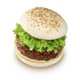 『松阪牛ハンバーグステーキバーガー』(単品:1800円)