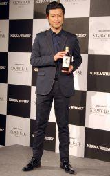 期間限定バー「NIKKA WHISKY STORY BAR TOKYO」プレスプレビューに出席した玉山鉄二(C)ORICON NewS inc.