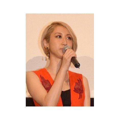 映画『天の茶助』初日舞台あいさつに出席したMs.OOJA (C)ORICON NewS inc.