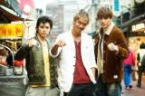 台湾版GTO『GTO TAIWAN』に出演する(左から)山本裕典、AKIRA、城田優