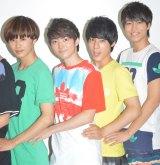 超特急(左から)タクヤ、ユーキ、ユースケ、タカシ (C)ORICON NewS inc.