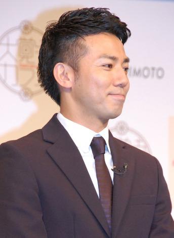 祝!『大覚寺カフェ』オープン記念イベントに出席したピース・綾部祐二 (C)ORICON NewS inc.