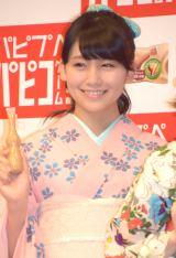 アイス『パピコ』2015新CM発表会に出席した小嶋真子 (C)ORICON NewS inc.