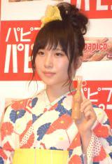 アイス『パピコ』2015新CM発表会に出席した高橋朱里 (C)ORICON NewS inc.