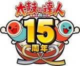 太鼓の達人15周年ロゴ