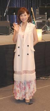 ライブツアー『安倍なつみ Summer Live 2015 〜Dream〜』東京公演を行った安倍なつみ (C)ORICON NewS inc.