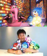 ディズニー/ピクサー映画『インサイド・ヘッド』(7月18日公開)で佐藤二朗が声優に初挑戦。ピンクのキャラクターがビンボン(C)2015 Disney/Pixar