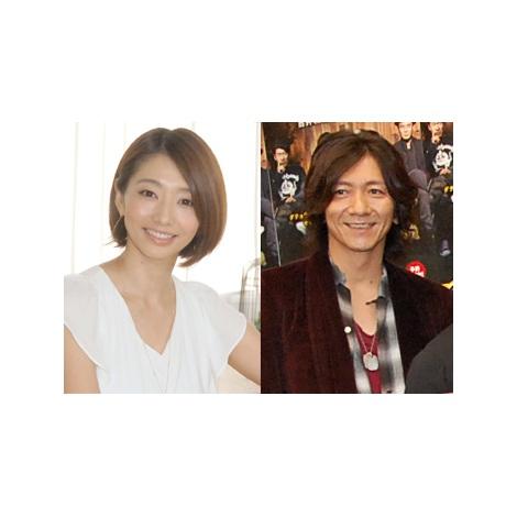 サムネイル 結婚を発表した(左から)眞鍋かをり、吉井和哉 (C)ORICON NewS inc.