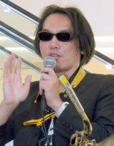 バリトンサックス奏者・吉田隆一氏=著書『音楽という<真実>』発売記念イベント (C)ORICON NewS inc.
