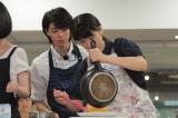 """ドラマ『明日もきっと、おいしいご飯〜銀のスプーン〜』の""""バースデーイベント""""の模様"""