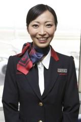 サンディエゴのお勧め場所を話してくれた日本航空のキャビンアテンダント・山中美七さん
