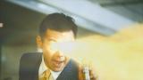 渡部篤郎が目から黄金のビーム!