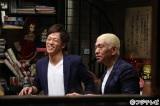 松本人志(右)と陣内智則(左)が芸人たちの悩みに真摯(しんし)に向き合う芸人ドキュメンタリー『下がり上がり』7月3日放送