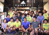 adidas RUNBASE Tokyoでの皇居ランの模様 (C)ORICON NewS inc.