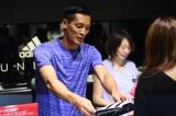 adidas RUNBASE Tokyoで1日店長を務めた槙野智章選手