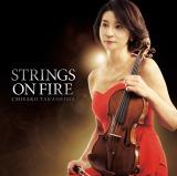 高嶋ちさ子のニューアルバム『Strings on Fire』通常ジャケット写真