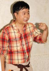 ミュージカル『うたかふぇ』初日前取材に登場した河本準一 (C)ORICON NewS inc.